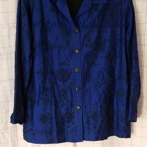 Chico's design silk jacket